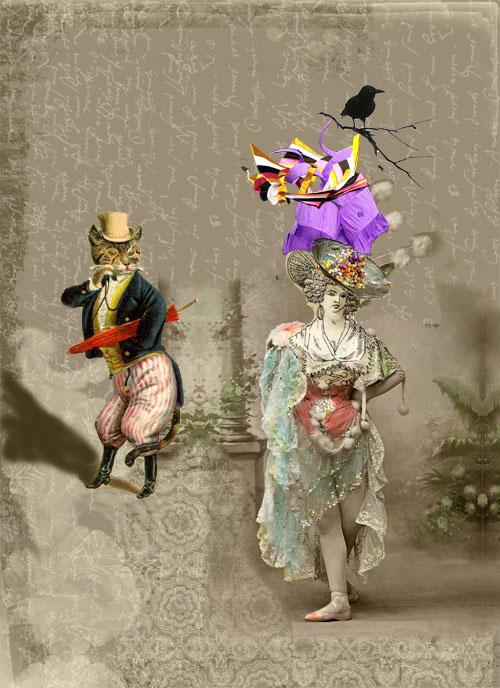 Envy and GaudyDigital Collage