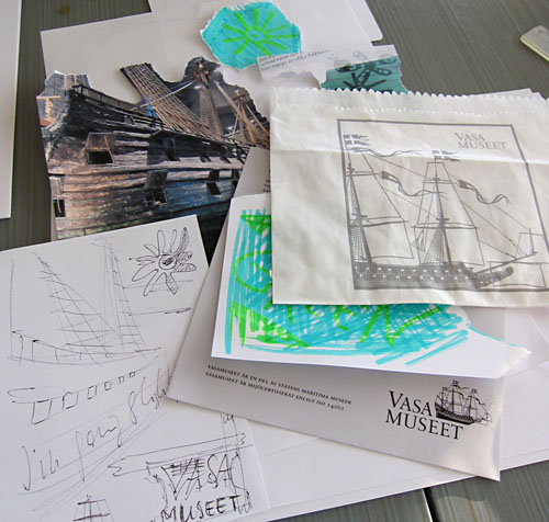 Vasa Museum - Art Journal Page