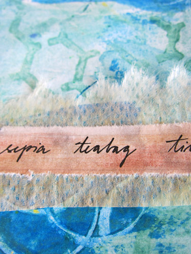 Detail - tiny words :)