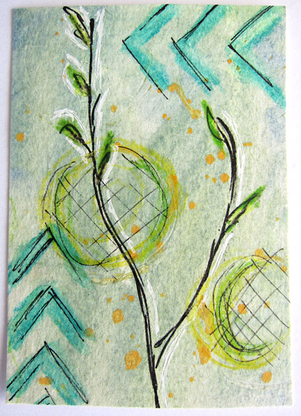 Earth Day ATC Swedish Spring I