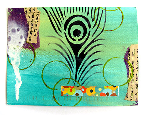 mail art from Dawn P.
